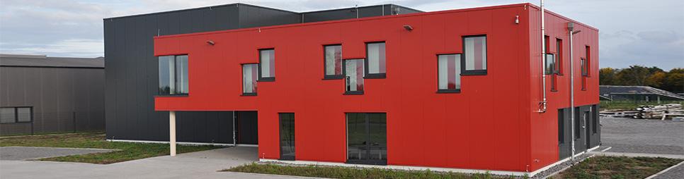 Firmengebäude Borcherding Industriebau GmbH & Co. KG