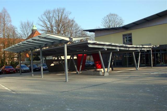 Pausenhofüberdachung in Gelsenkirchen